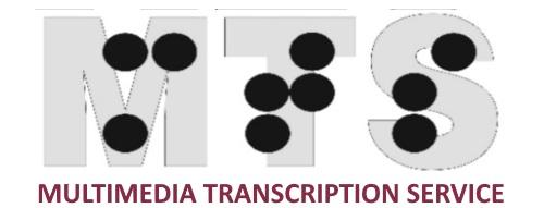 Logo of Multimedia Transcription Service