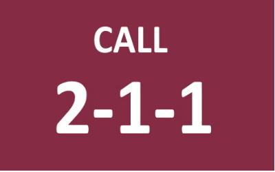 Call 2-1-1-